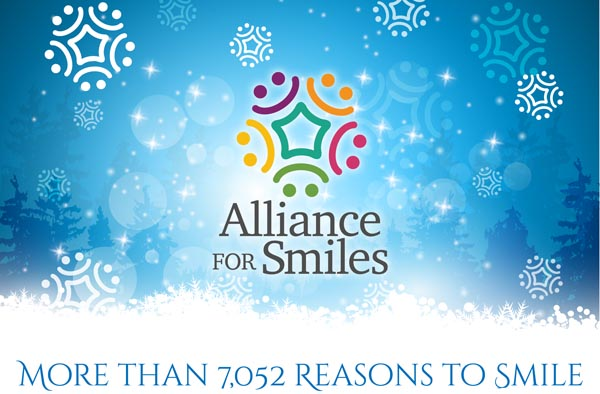 More than 7,052 reasons to smile – Happy Holidays