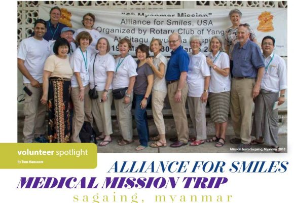 Volunteer Spotlight – Tom Hanscom in Myanmar