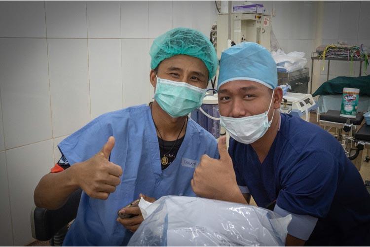 In the Operating Room – Sagaing, Myanmar