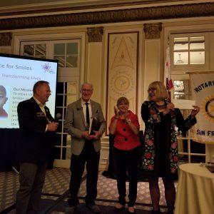 AFS honored at San Francisco Rotarian Meeting